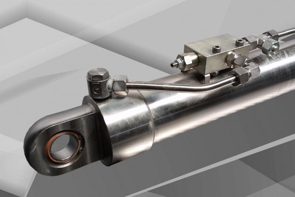 Stainless steel certified hydraulic cylinder