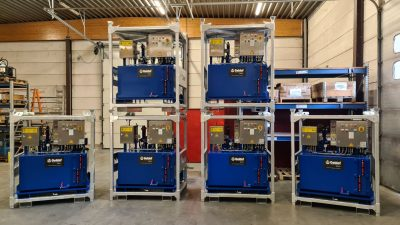 6 Hydraulic power packs for the steel industry